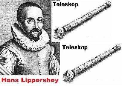 Hans Lippershey Teleskop