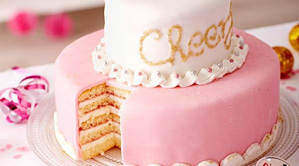 Şeker Hamurundan Pasta