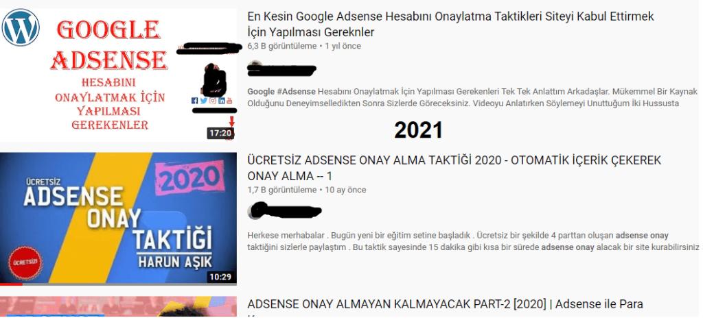 Google Adsense Hızlı Onay Alma 2021